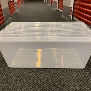Clear Stacking Totes Container for Sale in Queens, NY