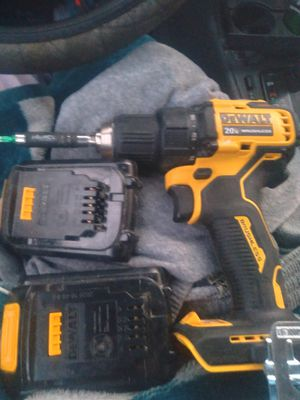 Dewalt 20 volt only used once 3 batteries and charger and the bag for Sale in Henrico, VA