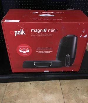 Polk audio manifi mini surround sound for Sale in Arlington, TX