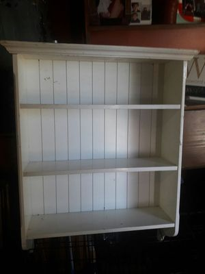Wall Shelf for pictures,trophies etc.must hang on wall for Sale in West Palm Beach, FL