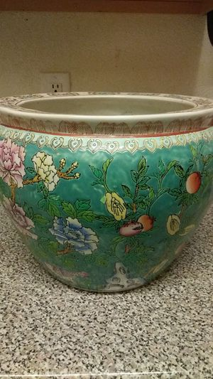 Vintage Fish Bowl Planter for Sale in Humble, TX