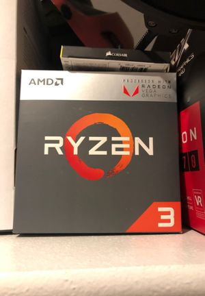 AMD Ryzen 3 2200G with Radeon Vega Graphics for Sale in Pinetop, AZ
