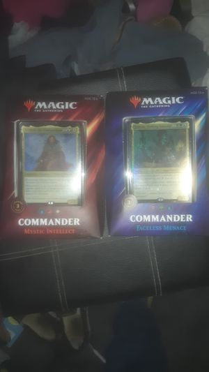 4b rand new magic card boxes for Sale in Tallahassee, FL