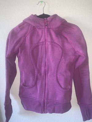 Lululemon Athletica Pink Scuba Hoodie for Sale in Las Vegas, NV