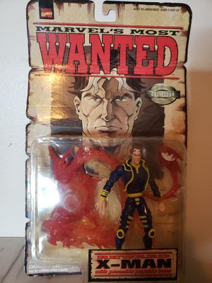 Marvel Comics Most Wanted X-Man w Posable psychic base Action Figure for Sale in Fort Lauderdale, FL