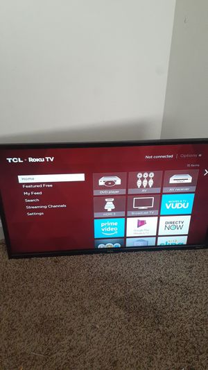 Tcl Roku tv for Sale in East Point, GA