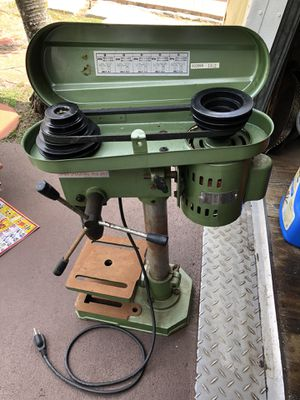 Central Machinery drill press for Sale in Lake Worth, FL