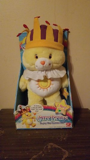 Care Bears-Singing King Funshine Bear for Sale in Evansville, IN