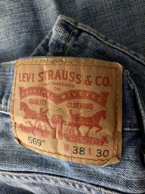 Levi men's jeans W38 L30 for Sale in Columbus, OH