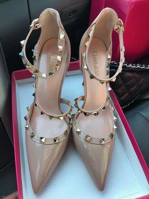 Designer sandals beige for Sale in Herndon, VA
