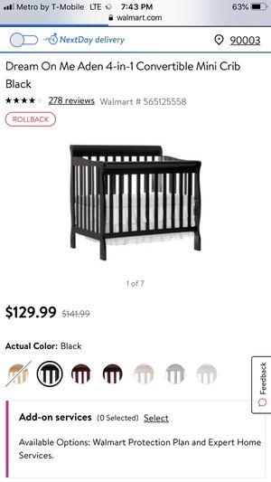 Free crib for Sale in Fontana, CA