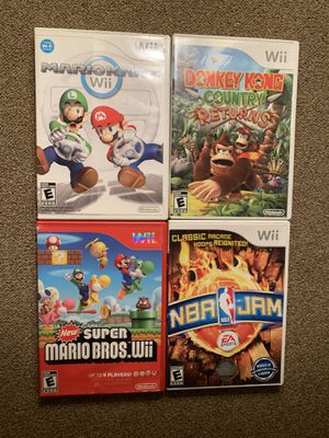 Wii Games for Sale in Kennewick, WA