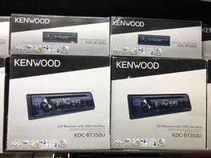 KENWOOD KDC-BT350u car stereo system Bluetooth m fm radio for Sale in Chula Vista, CA