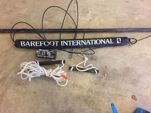 Barefoot international straight water ski boom wakeboard for Sale in St. Louis, MO