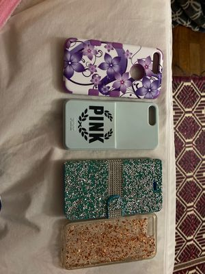 iPhone 7/8 plus phone cases (off brand) pink(victorious secret) case for Sale in Tacoma, WA