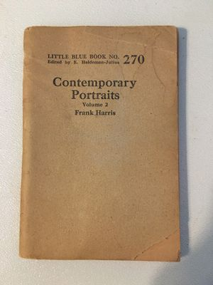 Little Blue Book Number: 270 Title: Contemporary Portraits Volume 2 for Sale in Harrodsburg, KY