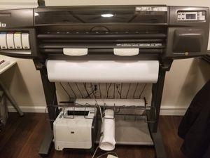 Large Format Color Printer HP Designjet for Sale in Alexandria, VA