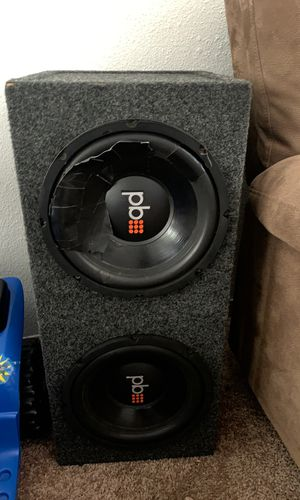 10 inch pb subs for Sale in Bend, OR