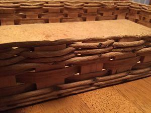 Pyrex Corning/ baking dish woven wicker carrier for Sale in Seminole, FL