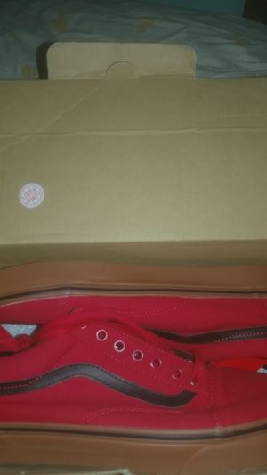 Pair of vans shoes for Sale in Reedley, CA