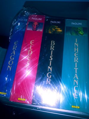 Inheritance cycle. Book novels all four eragon.eldest.brisingr.inheritance for Sale in Ruskin, FL