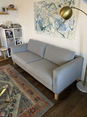 Ikea Knisa Light Gray Sofa for Sale in Manhattan Beach, CA