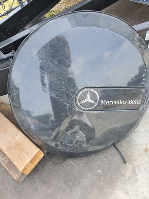 Mercedes-Ben spare tire cover & chrome ring for Sale in Downey, CA
