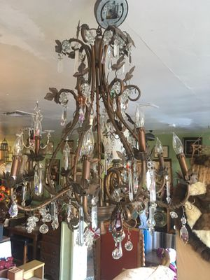 Antique vintage chandelier lamp $99 for Sale in San Diego, CA