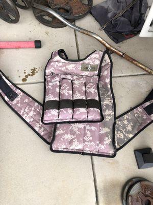 Weight vest 20lbs for Sale in El Cajon, CA