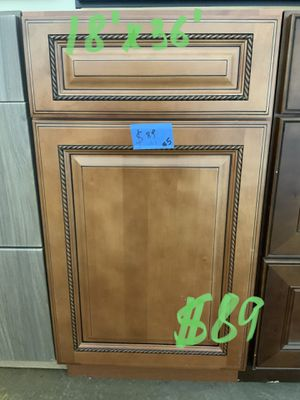 Various kitchen base cabinets/ see pictures for prices and measurements for Sale in Grove City, OH