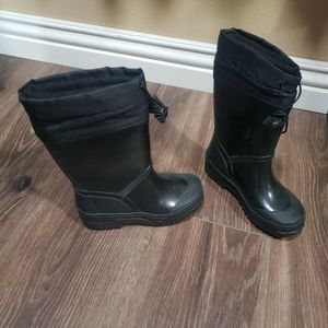 Kids Rain Boots Size Warm Liner Size 12 for Sale in Garden Grove, CA