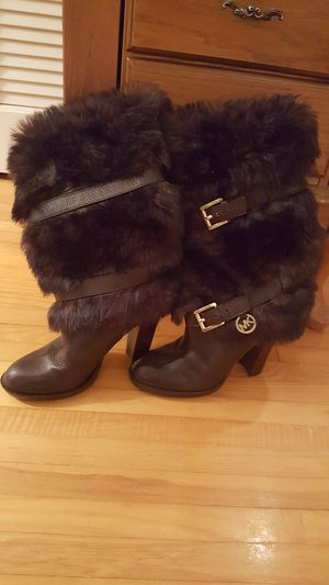 Michael Kors Brown boots for Sale in Mansfield, OH