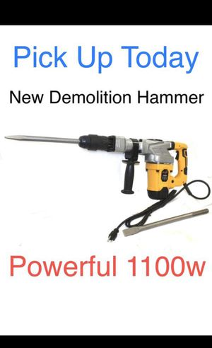 New Demolition Hammer with 2 Chisels for Sale in Chula Vista, CA