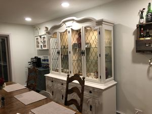 Lighted Display China Hutch for Sale in Lakewood, CO