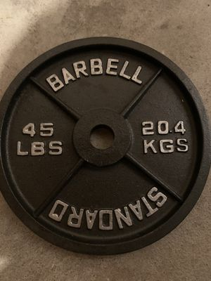 Rogue Olympic Cast Iron Plates for Sale in North Smithfield, RI