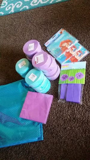 Little Mermaid Party Supplies for Sale in Kennewick, WA
