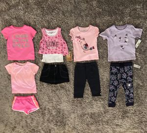 NEW AND LIKE NEW‼️ BUNDLE- SETS FOR BABY GIRL - 3T for Sale in Houston, TX