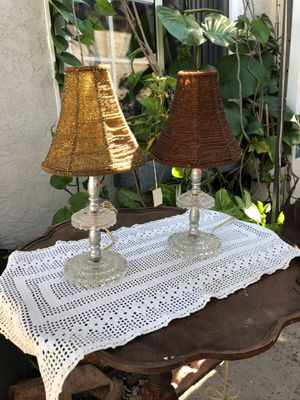 Mini Crystal Lamps for Sale in San Diego, CA