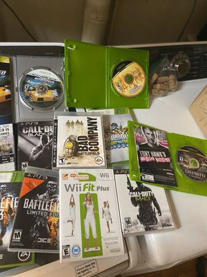Xbox 360, wii, ps3 games for Sale in Hollywood, FL