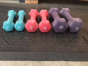 Arm weights all for $25 firm for Sale in Modesto, CA