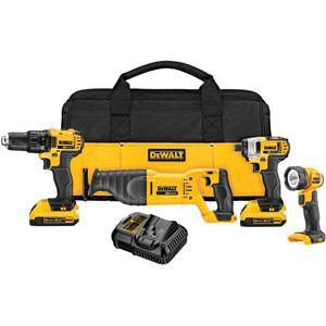 20v Dewalt 4 tool combo kit for Sale in Lawrence, MA