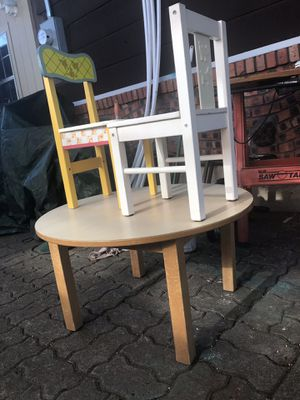 Kids Table and 2 Chairs $29 for Sale in Hurst, TX