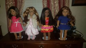 2 American girl dolls-$125 for Sale in Haddon Heights, NJ