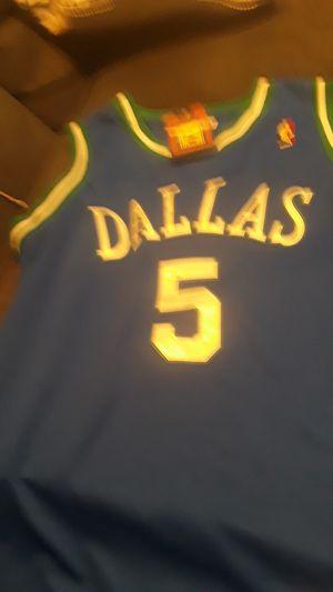 Jason kidd sewn Stitch Dallas Mavericks jersey size 44 or Medium for Sale in Grand Prairie, TX