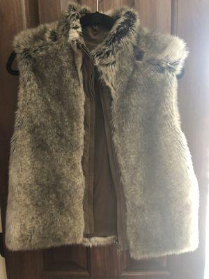 Skea reversible fur vest for Sale in Columbus, OH