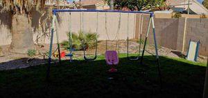Swing set and slide for Sale in Chandler, AZ