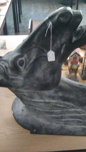 Iron horse head for Sale in Owego, NY