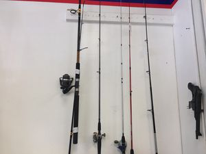Fishing rods for Sale in Houston, TX