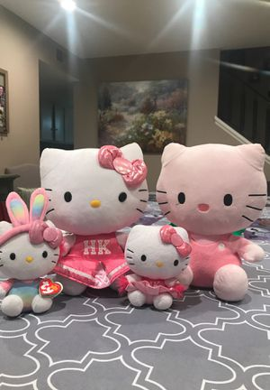 Hello kitty plushies for Sale in Fountain Valley, CA