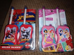 NEW KIDS WALKIE TALKIES.. PRINCESS ONE AVAILABLE ONLY for Sale in Fresno, CA